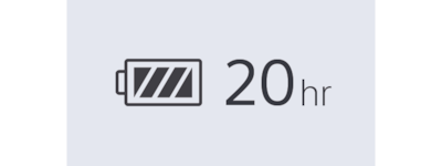 WI=C400 20 h battery icon