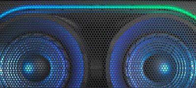 Ảnh của Hệ thống âm thanh di động công suất cao tích hợp Công nghệ BLUETOOTH®