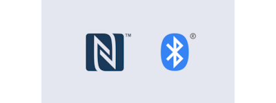 GTK-XB60 NFC and BLUETOOTH® logos