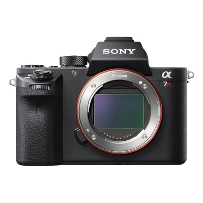 Picture of α7R II with back-illuminated full-frame image sensor