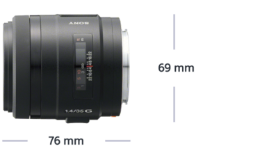 Picture of 35 mm F1.4 G