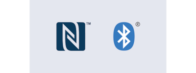 NFC and Bluetooth® logos