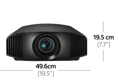 Dimensions of 4K SXRD Home Theater Projector