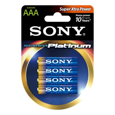 Picture of Alkaline STAMINA Platinum Batteries -Size AAA-