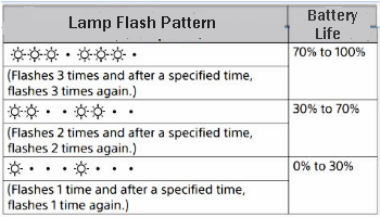 Lamp Flash Pattern