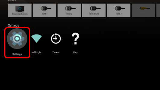 How to turn off or exit the DEMO mode on the TV (Android TV / WxxxB