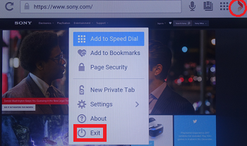 How to access and use the Internet Browser on the Android TV™  | Sony IN