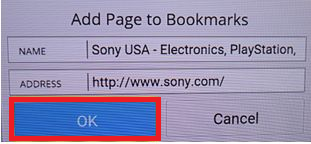 How to access and use the Internet Browser on the Android TV™  | Sony AP