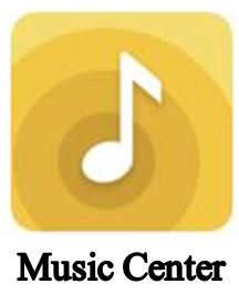 Image of Music Center icon