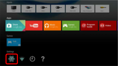 How do I turn off or exit the DEMO mode setting on my TV