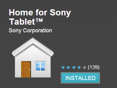 Home for Sony