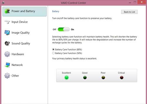 Battery Control 2