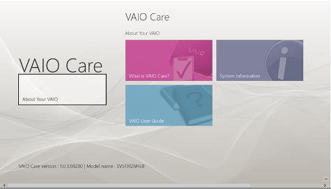 VAIO Care Metro non connecté