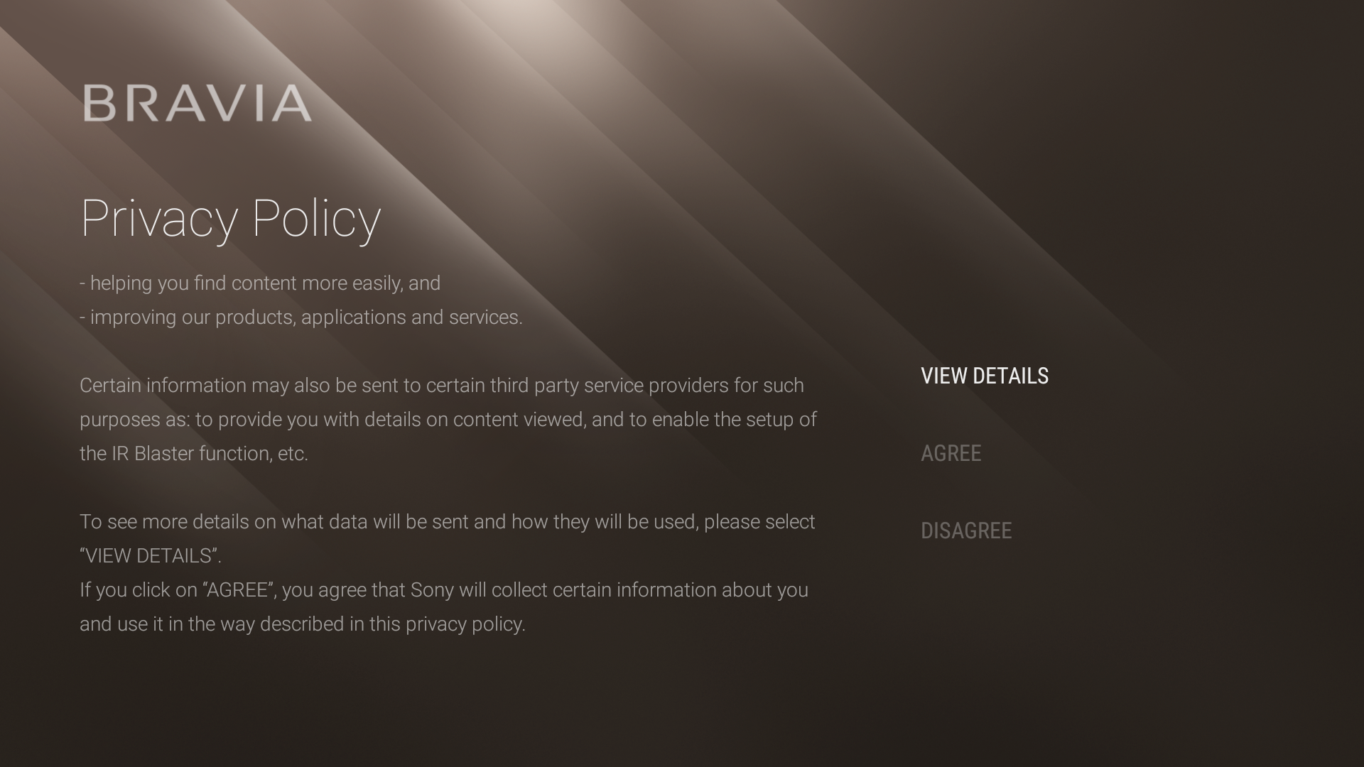 Android - General privacy policy