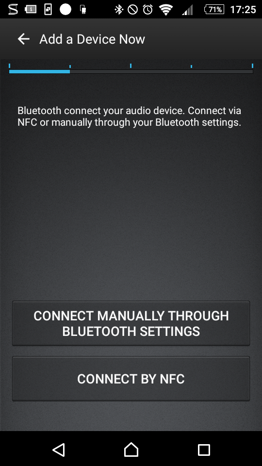 NFC of Bluetooth