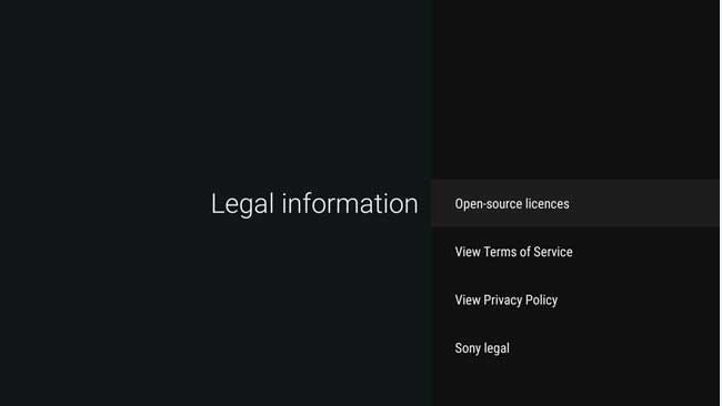 Android - Google's Terms and conditions and Privacy Policy