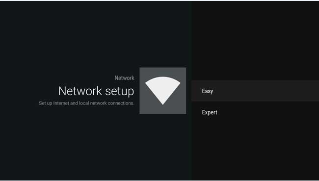 How to connect your sony® tv with wi-fi™ to a wireless network.