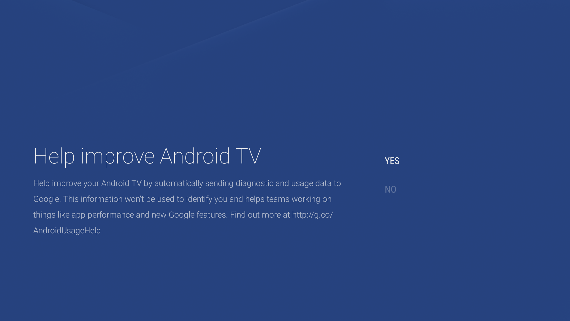 Improve Android TV
