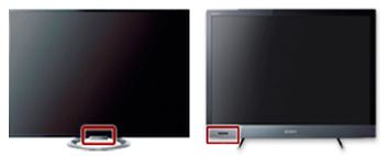 The BRAVIA TV cannot be turned on or the power turns on then