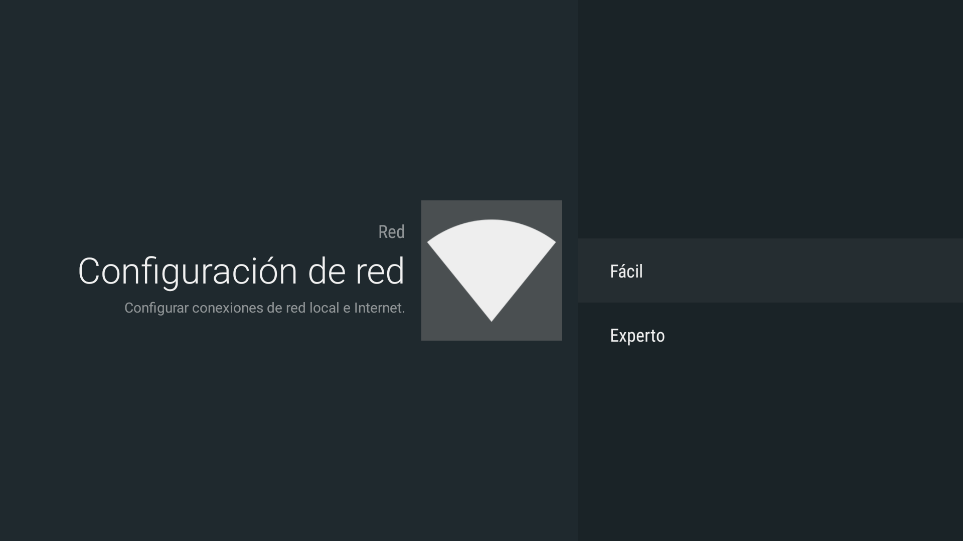 Android - Configuración de red