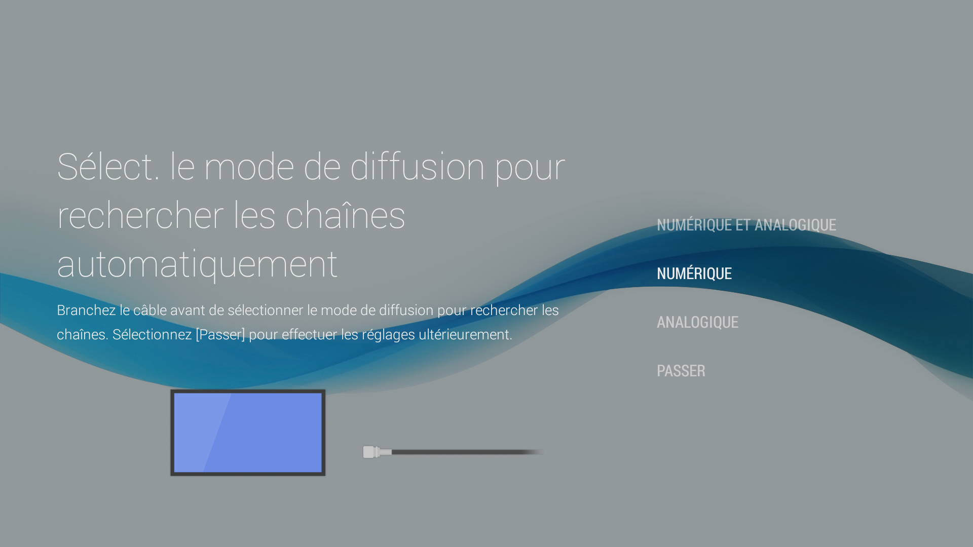 Android - Type de diffusion