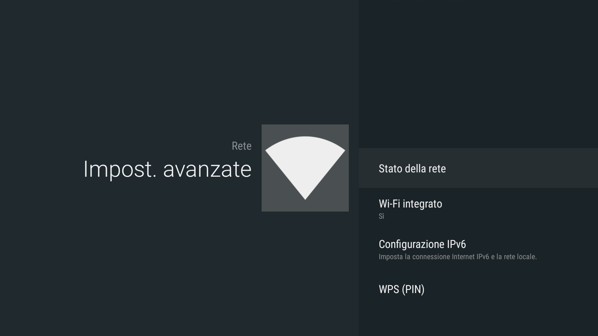 Android - Built-in wifi (Android - Wi-Fi integrato)