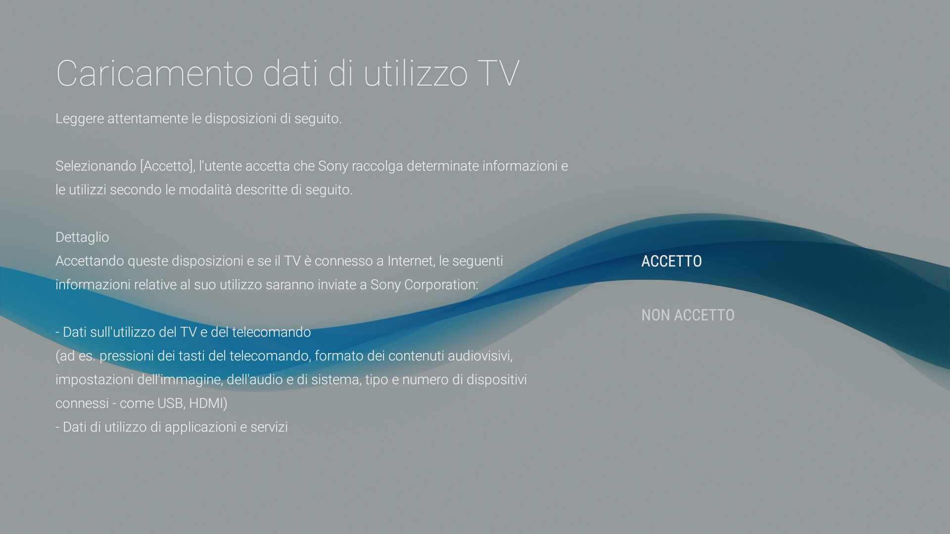 Android - Carica uso TV