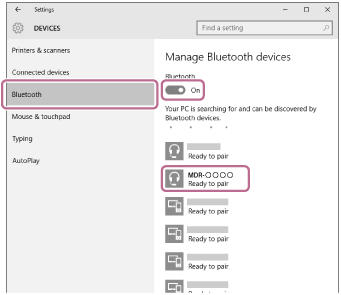 Windows 10 Bluetooth pairing 2