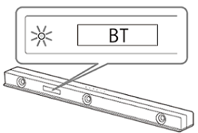 Bluetooth indicator