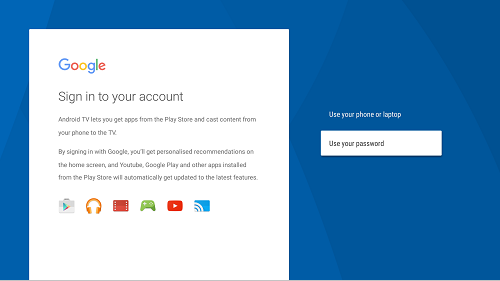 How to set (add) a Google account | Sony SG
