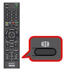 wide button on the remote