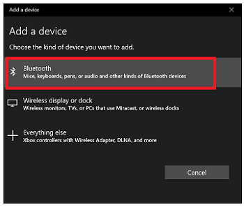 Add a device window