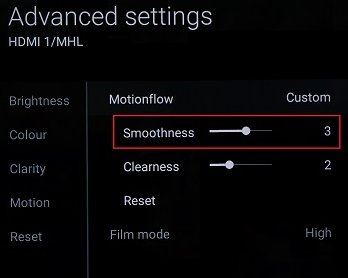 Select Smoothness