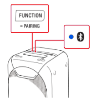 FUNCTION/Pairing Button