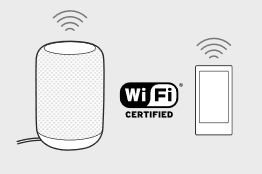 Setup Wi-Fi with App