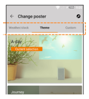 Portable Short Throw Projector App Poster screen