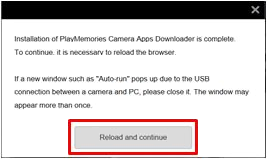 How to download and install applications from PlayMemories
