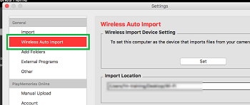 Download the Wireless Auto Import App | Sony USA