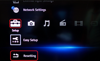 Blu-ray Disc player menu