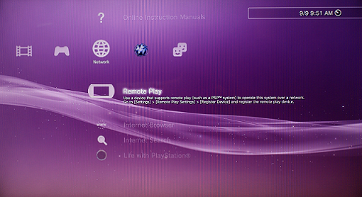 How to set up the Remote Play with PlayStation® 3 software