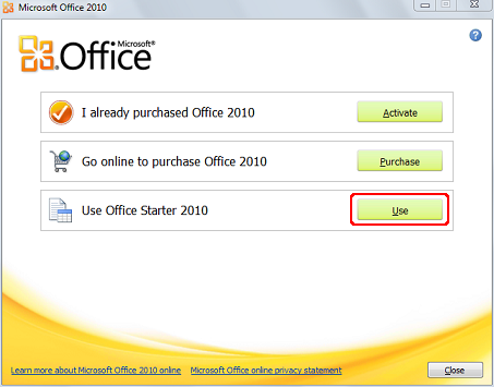 i want to purchase microsoft office 2010