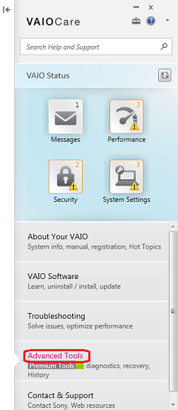 How To Create A Set Of Recovery Discs Using The Vaio Care Version 8 Software Sony Ap