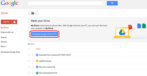 how to download from drive
