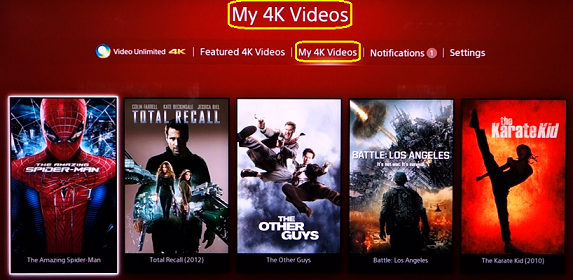 My 4K selections