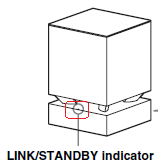 Link/Standby indicator light