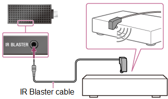 IR blaster connection