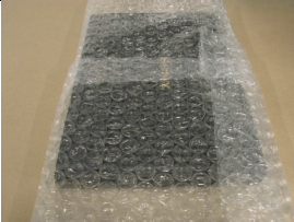 wrapping with bubble wrap