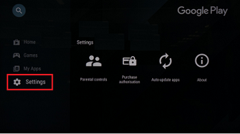 GooglePlayStoreSettings