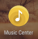 Music Center icon