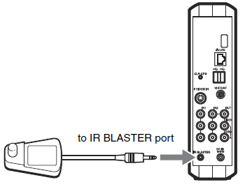 Connect and Set Up the IR Blaster of a LocationFree TV | Sony USA